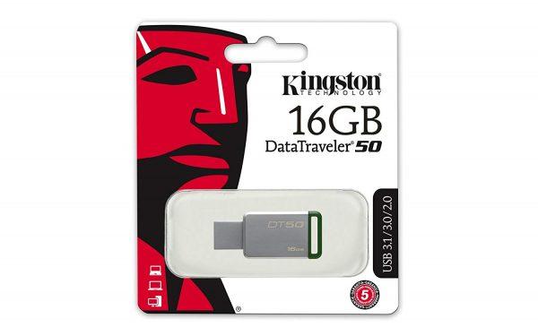 USB Kingston | Memorias | 8GB | 16GB | 32GB | 64GB | 128GB