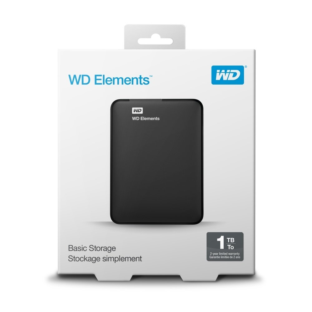Disco Duro Externo Western Digital Elements