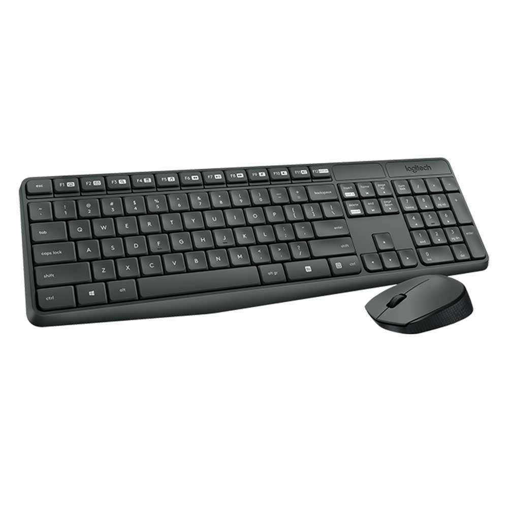kit teclado mouse logitech mk235