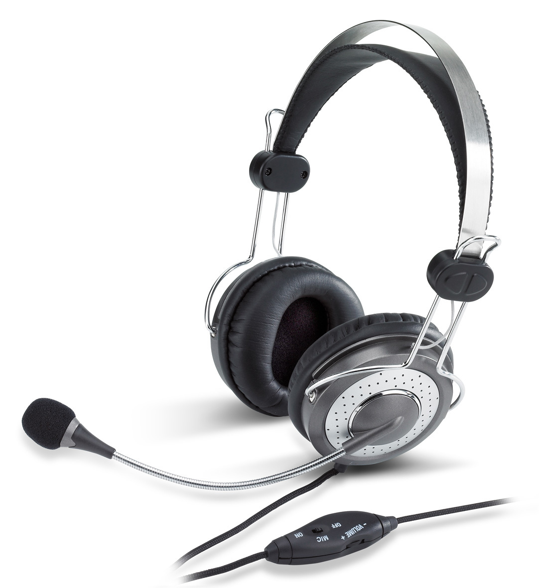 audifono con microfono genius hs-04su